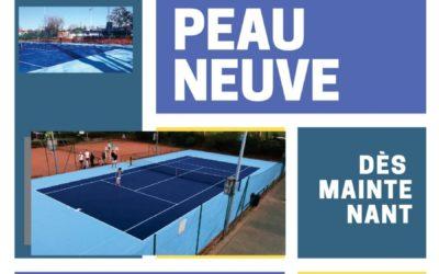 Ça bouge à la section Tennis !